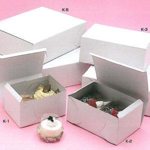 ケーキ用サービス箱